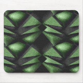 Green Diamond Mouse Pad