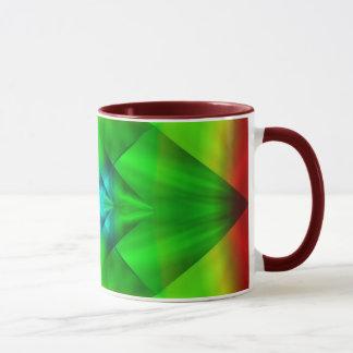 Green Diamond Mug