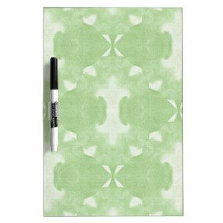 Green Diamond Pattern Dry Erase Board