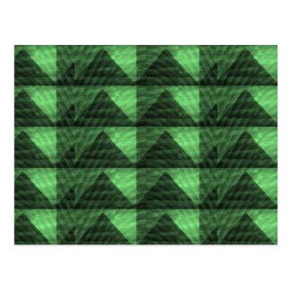 GREEN Diamond PYRAMID cut Gifts  LOWPRICE STORE Postcard