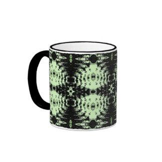 green diamonds mug