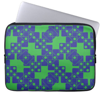Green Dice Computer Sleeve