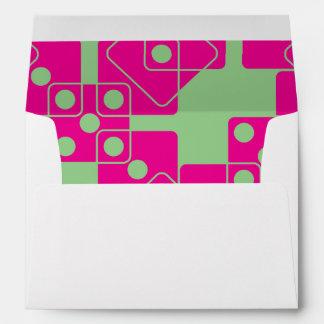 Green Dice Envelope