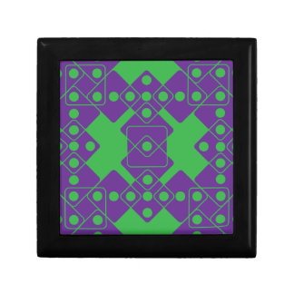 Green Dice Jewelry Box