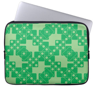 Green Dice Laptop Computer Sleeve