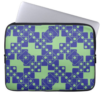 Green Dice Laptop Sleeve