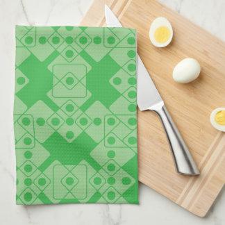 Green Dice Towel