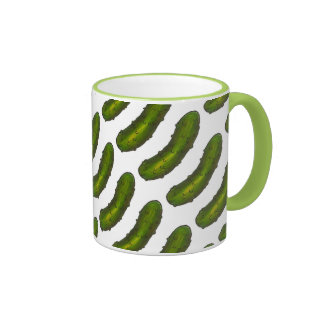 Green Dill Pickle Pickles Dills Foodie Mug