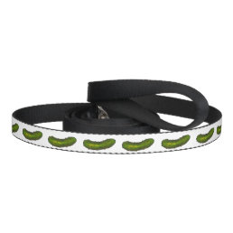 Green Dill Pickle Pickles Dog Leash
