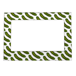 Green Dill Pickle Pickles Foodie Picture Frame