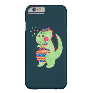 Green Dino Barely There iPhone 6 Case