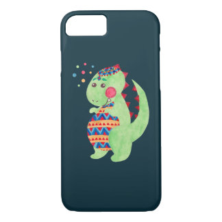 Green Dino iPhone 7 Case