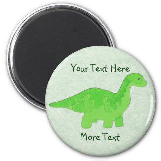 Green Dino Magnet