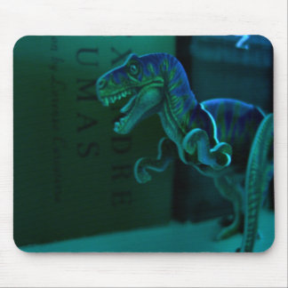 Green Dino Mouse Pad