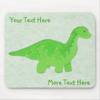 Green Dino Mousepad