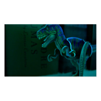 Green Dino Profile Cards Business Card
