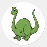 Green Dino Sticker