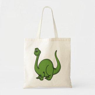 Green Dino Tote Bag