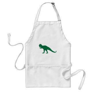 Green Dinosaur Adult Apron