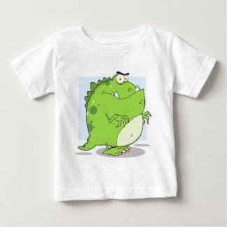 Green Dinosaur Baby T-Shirt