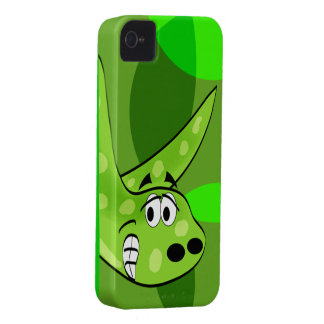Green Dinosaur Blackberry Case