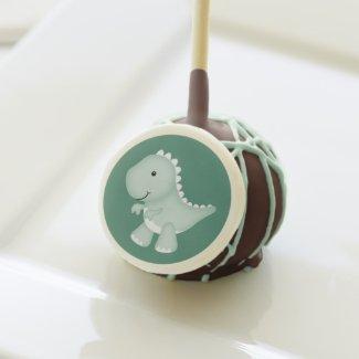 Green Dinosaur | Customizable Cake Pops