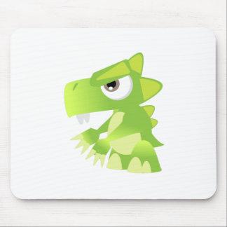 Green Dinosaur Mousepads