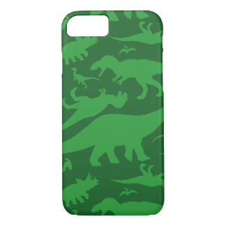Green Dinosaur Pattern iPhone 8/7 Case