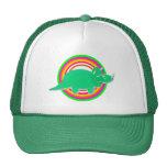 Green Dinosaur Triceratops Trucker Hat