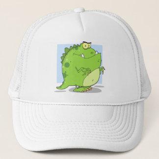Green Dinosaur Trucker Hat