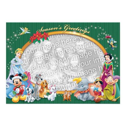Green Disney Classics: Season's Greetings Card