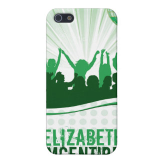 Green DJ Spin Party Personalized iPhone 4 Case