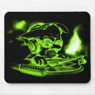 Green_DJ Tapete De Raton