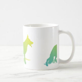 Green Dog Coffee Mug