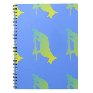 Green Dog Notebook