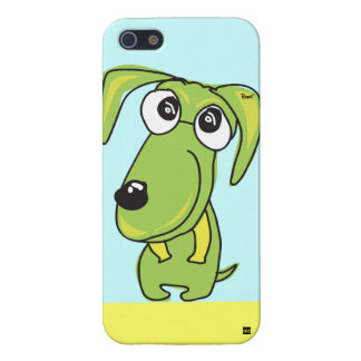 Green Dog Smile iPhone 5 Case