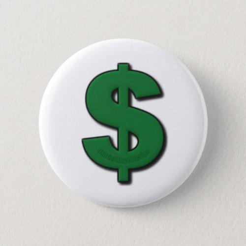 Green Dollar Sign Button