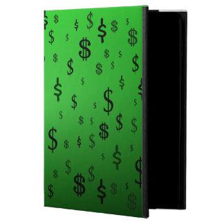 Green Dollar Sign Print Case For iPad Air