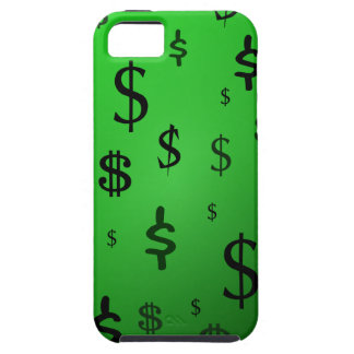 Green Dollar Sign Print iPhone SE/5/5s Case