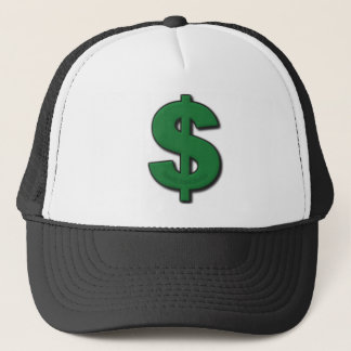 Green Dollar Sign Trucker Hat