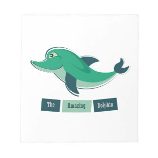 Green Dolphin Notepads
