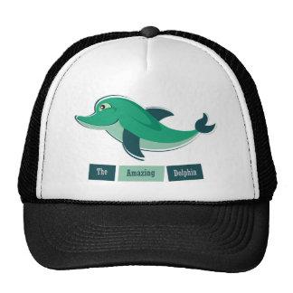 Green Dolphin Trucker Hat