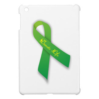 Green Donate Life Ribbon Cover For The iPad Mini