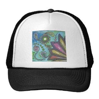 Green Doodle 2 Trucker Hat