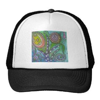 Green Doodle 4 Trucker Hat