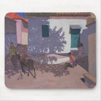 Green Door and Shadows Lesbos 1996 Mouse Pad