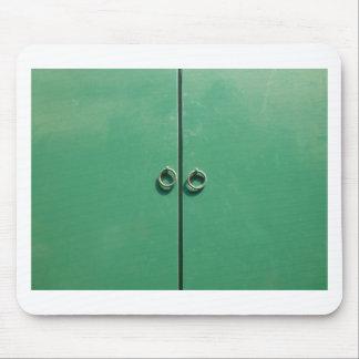 Green Door Image Mouse Pad