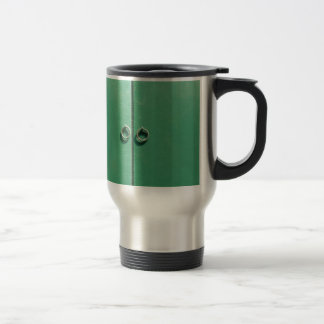 Green Door Image Travel Mug