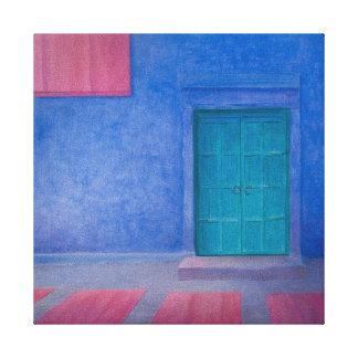 Green Door Jodhpur 2010 Canvas Print