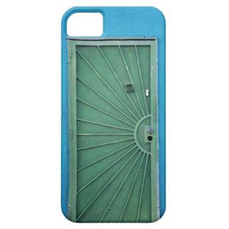 Green Door on Blue iPhone SE/5/5s Case